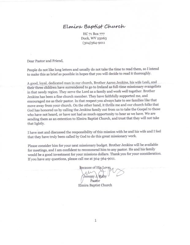 pastors letter 2